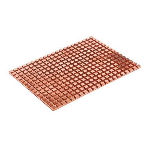JunYe Ultradünner Reiner kupferner mechanischer Festplattenkühler Kühlkörperkühlung 2,5 Zoll