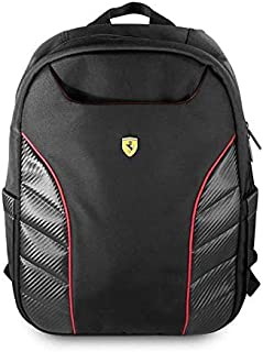 Ferrari Scuderia New Simple Version Laptop Bag 15 Inch - Black