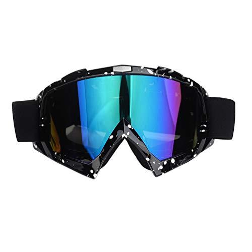 GuardGal Lunettes de Protection de Yeux Visage Masque, pour Sport de Plein air Anti-poussière Anti-UV Coupe-Vent pour Activités Extérieures Cross Cyclisme Ski vélo Goggles