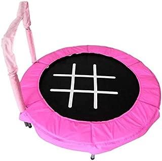 JumpKing JK48SPC Trampoline 4' Pink Tic-Tac-Toe Bouncer for Kids