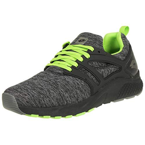 Lotto Breeze II MLG Herren Laufschuh Jogging Sneaker T6217 schwarz, Schuhgröße:44 EU