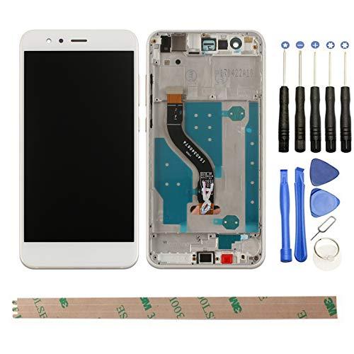 HYYT LCD Display Touchscreen Digitizer Rahmen fur Huawei P10 Lite mit Frei Werkzeuge Weis