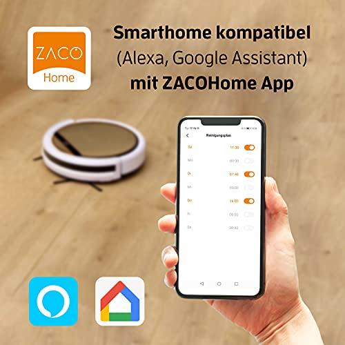 ZACO V5x Saugroboter App & Alexa Steuerung - 7