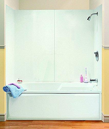 "MAAX 101588-000-129 4-Piece Bathtub Wall Kit, L W X H, Polystyrene, 48-60"" x 30"" x 54"""