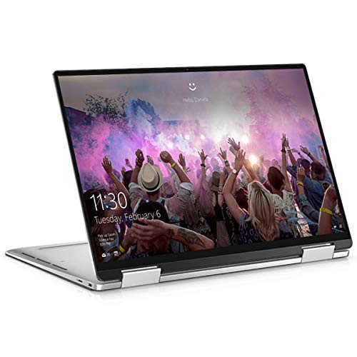 Dell XPS 13 7390 2-in-1, Silver, Intel Core i5-1035G1, 8GB RAM, 256GB SSD, 13.4' 1920x1200 WUXGA, EuroPC 1 YR WTY, French Keyboard + EuroPC Warranty Assist, (Renewed)