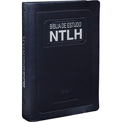Bíblia de Estudo NTLH - Couro sintético Azul escuro: Nova Tradução na Linguagem de Hoje (NTLH)
