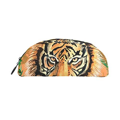 Funda para lápices titulares Jungle Tiger Pen Papelería Bolsa con maquillaje con cremallera para niñas Niños