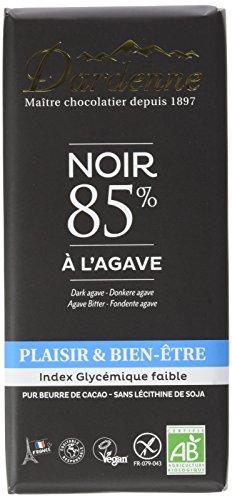 DARDENNE Tablette Chocolat Noir 85% à l'Agave 90 g