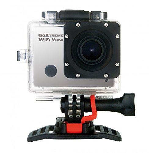 GoXtreme Easypix View Full HD Action Kamera (5 cm (2 Zoll) Farbdisplay, 5 Megapixel Sensor, 1080P, HDMI, USB 2.0, WiFi) Silber