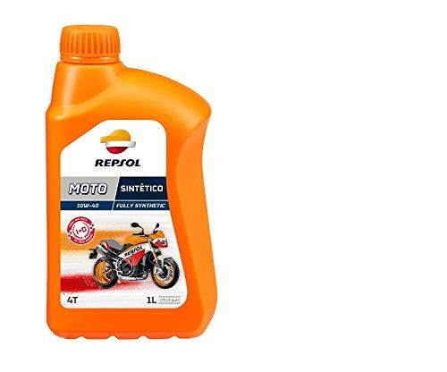 Repsol RP163N51 Moto 4T 10W-40 Aceite de Motor, 1 L