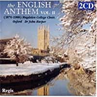 The English Anthem Collection Vol. 2, 1870-1988 by Magdalen College Choir Oxford (2004-06-26)