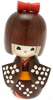 Usaburo Japanese Kokeshi Doll Hana s Yukata