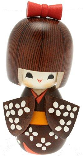Usaburo Japanische Kokeshi Puppe, Hana 's Yukata