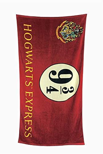Toalla de baño Andén 9 y 3/4, Harry Potter (75 x 150 cm)