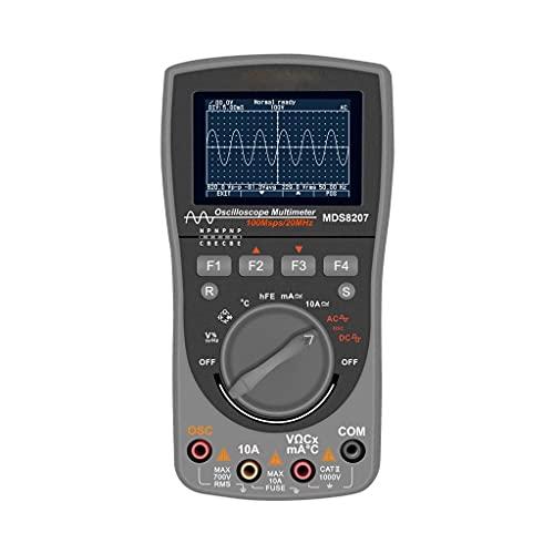 GYZX MDS8207 2IN1 Multímetro de osciloscopio de Almacenamiento Digital Inteligente Multímetro One Key Auto Oscilloscop Tester con GRAP analógico