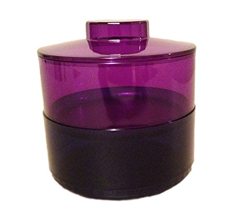 Tupperware 2 Piece Tier Dish - Sapphire and Amethyst
