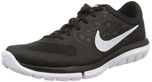 Nike Herren, WMNS Flex 2015 rn, Mehrfarbig (Black/White), 36