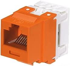 Panduit NK688MOR Category-6 8-Wire Jack Module, Orange