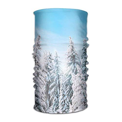 Yosemite National Park Trees Snow Winter Headwear Bandanas Seamless Headscarf Outdoor Sport...