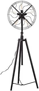 Zuo 98275 Samsonyte Floor Lamp, Rust Black