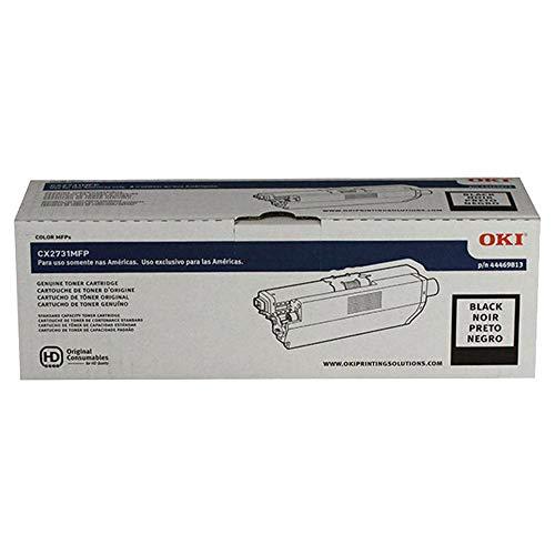 Oki Data 44469813 Laser Toner Cartridge for CX2731 Printer, 5000 Page Yield, Black
