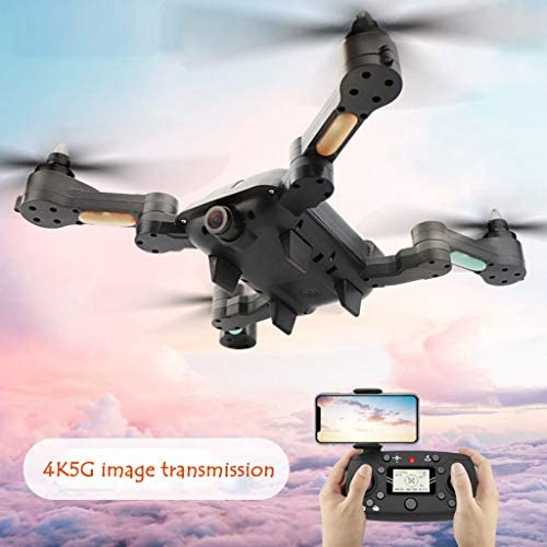 Hunpta@ Drohne,X-328 WiFi HD 4K 120 ° Weißinkelkamera Doppelter GPS-H nstand Brushless Quadc RC Quadcopter