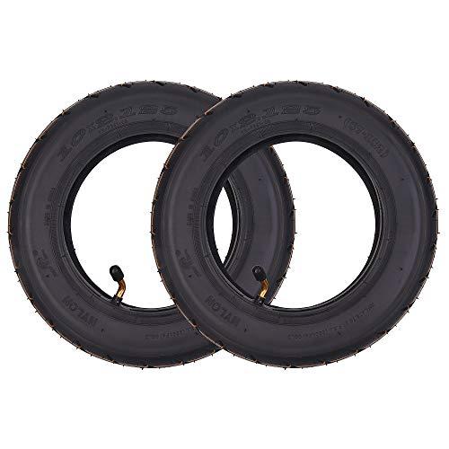 """2 Sätze Packung mit 10 x 2,125 10\""""Reifen Reifen + Schlauch Ersatz für Smart Self Balancing 2-Rad Elektroroller 10 Zoll Einrad"""