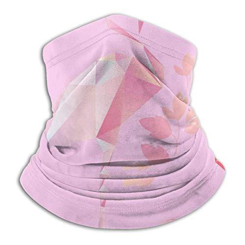 Pink Flamingo Vector Image Headwear Neck Gaiter Warmer...