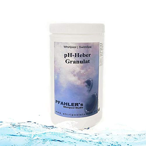 pH Heber Granulat Pool 5 kg / 1 kg pH Plus Granulat Whirlpool - Schwimmbad (1 kg)