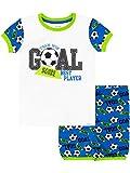 Harry Bear Pijama Corta para niños Fútbol Azul 3-4 Años