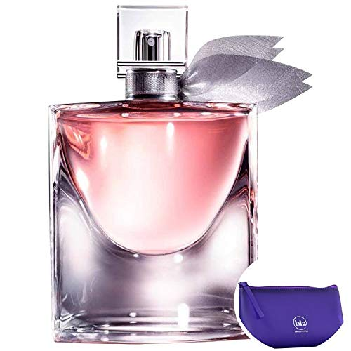 La Vie Est Belle Lancôme Eau de Parfum - Perfume Feminino 100ml+Necessaire Roxo com Puxador em Fita
