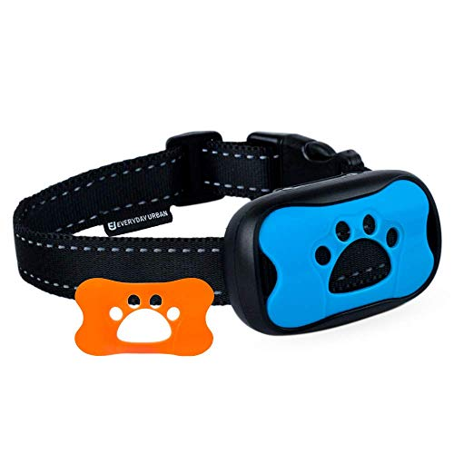 Dog Bark Collar - Stop Dogs Barking Fast! Safe Anti Barking Devices Training Control Collars, Small, Medium and Large pet deterrent. No shock, remote or citronella. Sound, vibration training device