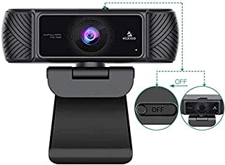 NexiGo 1080P 60FPS Webcam with Microphone for Streaming, Advanced AutoFocus, w/Privacy Cover, N680P Pro Computer Web Camer...