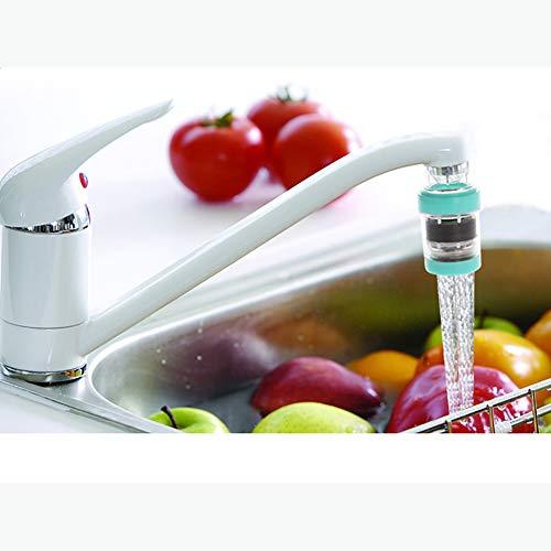 Kraan waterfilter gezonde actieve koolwaterfilter voor huishoudelijke kraanreiniger keuken(Random kleur)