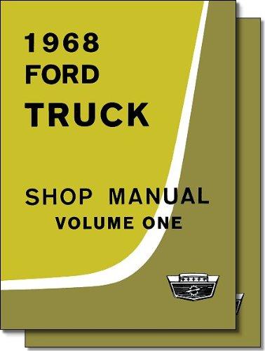 1968 Ford Truck Shop Manual 2-volume set