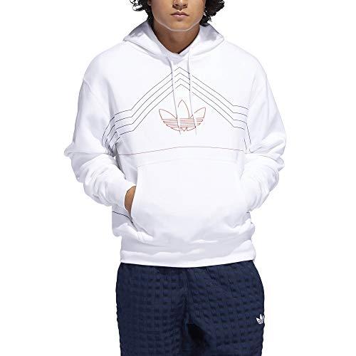 Adidas Ewing Hoody DV3102 White Raw Amber Sudadera con Capucha para Hombre
