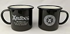Set of 2 Campfire Style Metal Mugs Great for Sipping Shatterproof