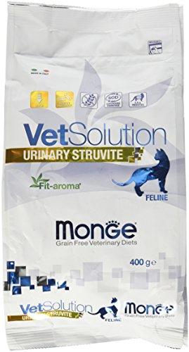 Monge Veterinary Solution Gatto Urinary Struvite GR. 400 Cibo Gatti, Multicolore, Unica