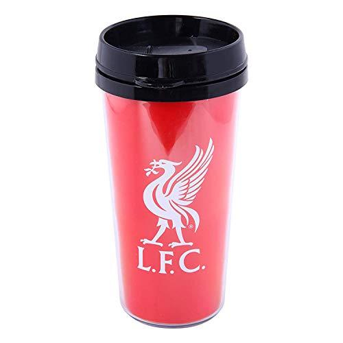 Premier League Liverpool FC rot Logo Thermobecher Reisebecher Tasse Kaffeebecher
