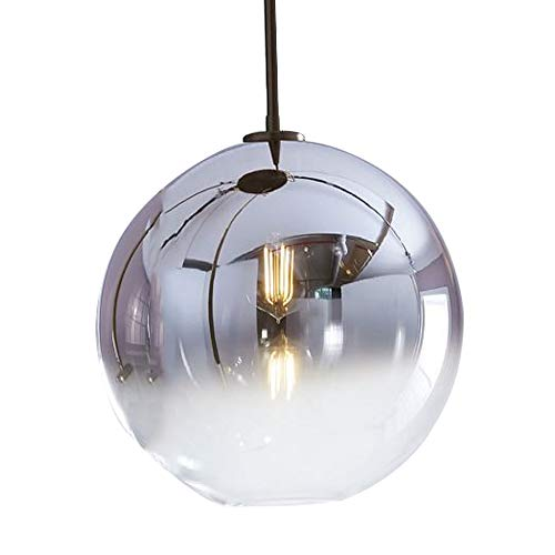 1-lumière Mini Globe Pendentif Lumière Moderne Cuisine Island Éclairage Mirror Ball