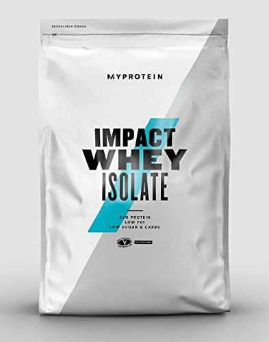 Myprotein Impact Whey Protein Powder. Muscle Building Supplements For Everyday Workout With Essential Amino Acid And Glutamine. Vegetarian, Low Fat And Carb Content - Natural Vanilla, 1kg