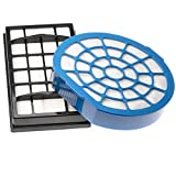 vhbw Set de filtros adecuados para aspiradoras Dirt Devil Infinity Excell M 5050-4, M 5050-5; Filtro...
