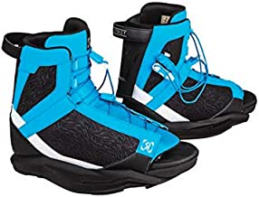 Ronix Wakeboard Bindings District Boot - Blue/White/Black (2019)