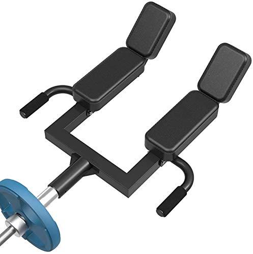 RGLZY T-Bar Row Schulterpresse Landmine Griff Griff für 2 Zoll olympische Langhantel Rückenbefestigung - Home Gym Krafttrainingsgerät