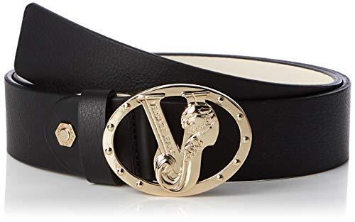 Versace Jeans Couture Belt Cinturón, Negro (Nero 899), 85 para Mujer