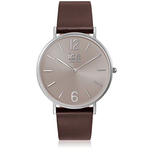 Ice-Watch - CITY tanner Brown Taupe - Men's wristwatch with leather strap - 001518 (Medium)
