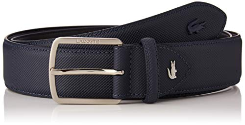 Lacoste RC4009 Cintura, Blu (Marine), 7 (Taglia Produttore: 110) Uomo