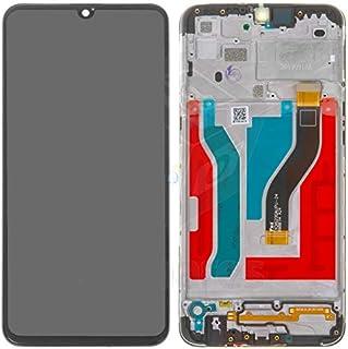 Tela Frontal Touch e Display LCD A10S A107 Preta Com Aro