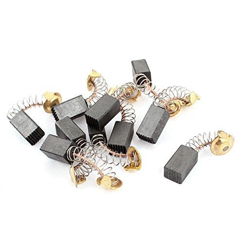 10 Piezas Reemplazable 13mm x 7.5mm x 6.5mm Escobillas De Carbón para Herramientas Eléctricas