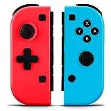 Elyco Mando para Nintendo Switch, 2er-Set Wireless Bluetooth Joycon Gamepad Joypad Joystick De Reemplazo Izquierdo Y Derecho para Nintendo Switch Controlador